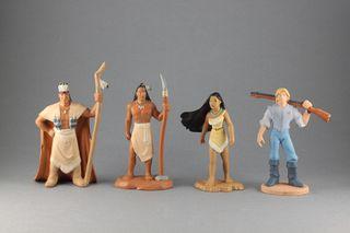 Lote figuras Disney PVC Pocahontas