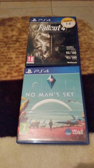 2 juegos PS4