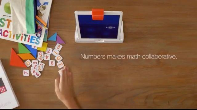 Play OSMO NUMBERS Apple ipad juego educativo