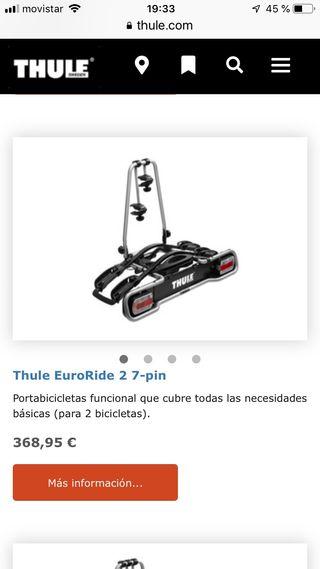 Portabicicletas Thule Euroride