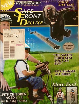 sillita frontal bicicleta WeeRide asiento bebés