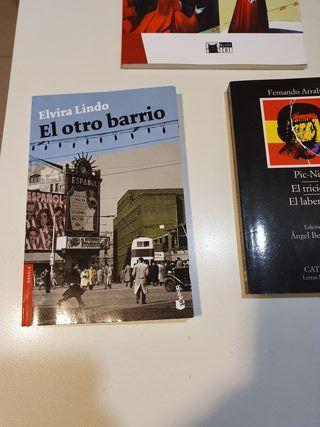 Varios libros de lectura ESO