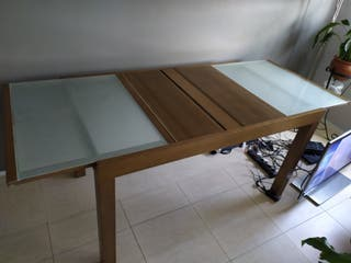 mesa salon extensible