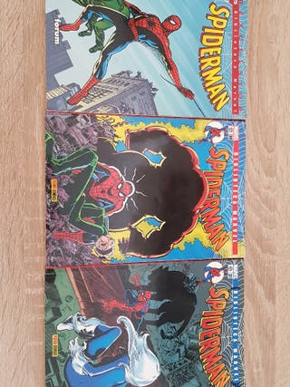 Comics Spiderman de la biblioteca Marvel
