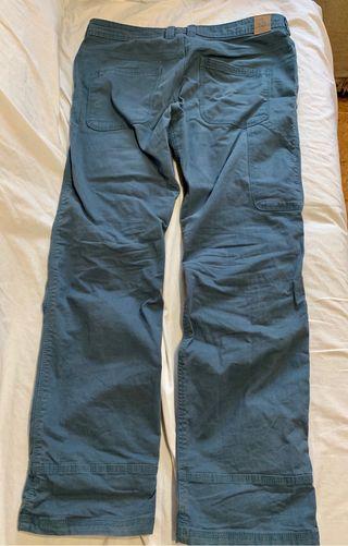 Pantalón escalada/casual prAna talla M (32Wx32L)