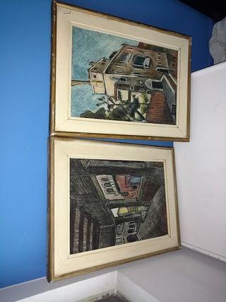 Dos cuadros R. De Francesco