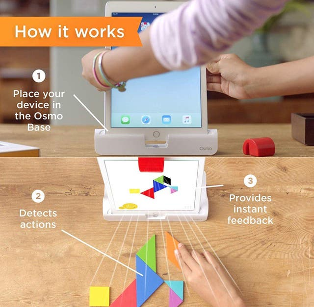 Play OSMO TANGRAM Ipad Apple juego educativo