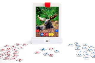 Play OSMO WORDS Apple Ipad juego educativo