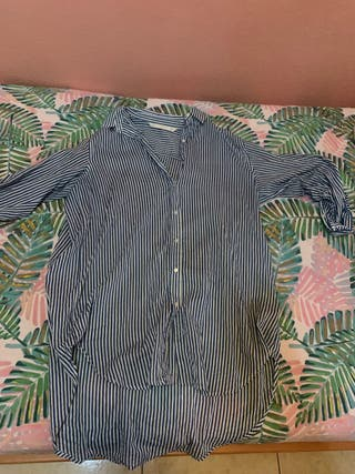 Camisa oversize rayas de segunda mano por 3 € en Santa Cruz
