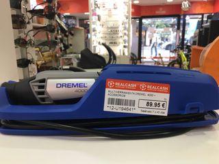 Multiherramienta Dremel 4000 + accesorios *Nuevo