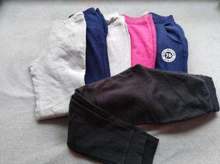 Lote pantalones 9-11 años