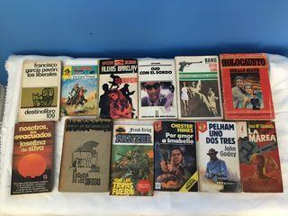 Libros antiguos (1€ por unidad)