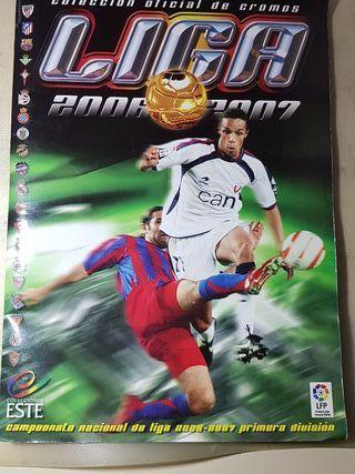 album de cromos futbol 2006 2007 colecciones ESTE