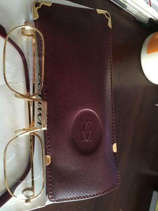 Gafas Cartier oro 24kt - auténticas