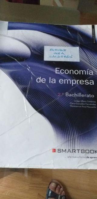 libro 2 bachillerato economia de la empresa claret