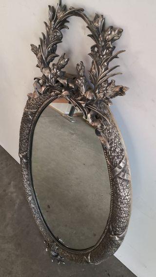 Espejo Barroco Ovalado Bronce