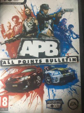 videojuego APB