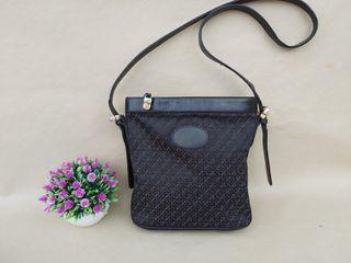 Loewe bolso autentico de piel y lona