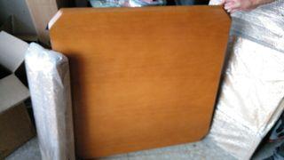 Mesa madera extensible 90cm