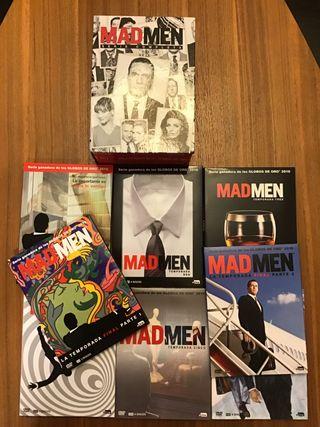 Serie Completa DVD MAD MEN. Los 8 DVD's