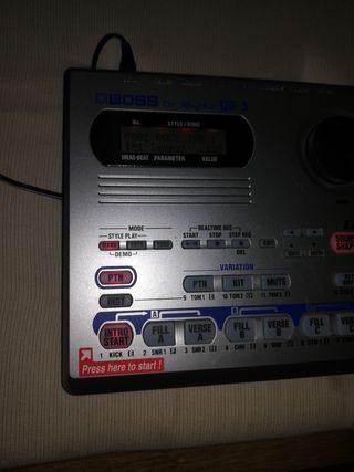 Caja de ritmos boss dr3