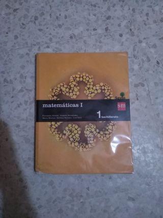 Libro Matemáticas 1° Bach