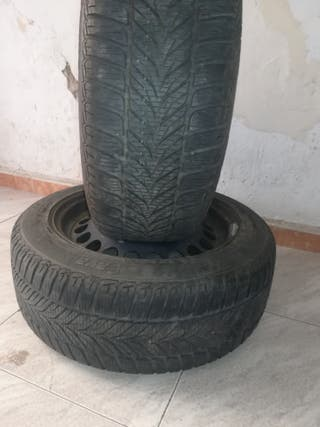 2 ruedas completas con neumáticos 20/55/16