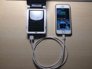 Cargador mobil y pilas solar