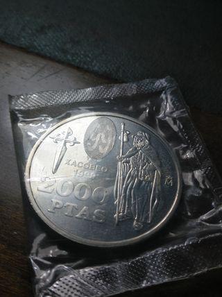2000 pesetas Xacobeo 1999