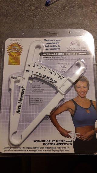 Accu Measure - Adipómetro, medidor de grasa corpor