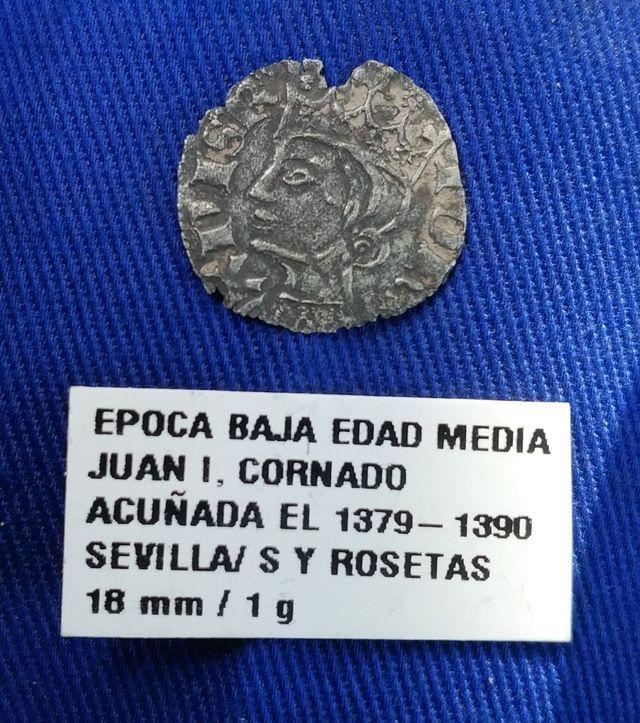 MONEDA ALTO MEDIEVAL JUAN I, CECA SEVILLA