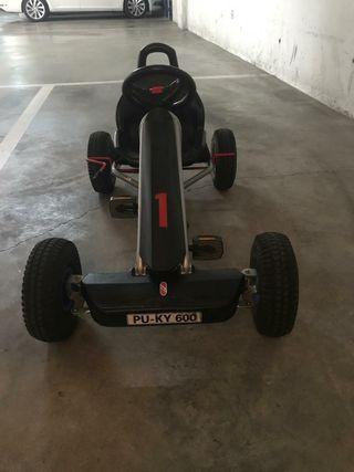 coche kart pedales infantil