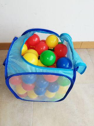 Bolsa de bolas de plàstico para parque infantil.