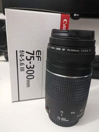 Objetivo Canon 75-300mm f/4-5.6 II