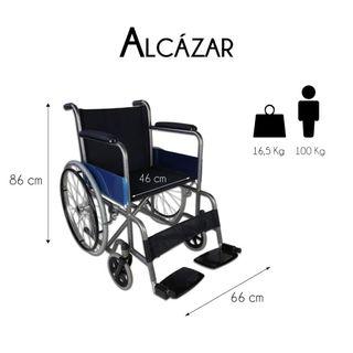 Silla ruedas plegable Mobiclinic Alcazar NUEVA