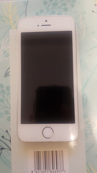 iPhone 5s 16g Plata