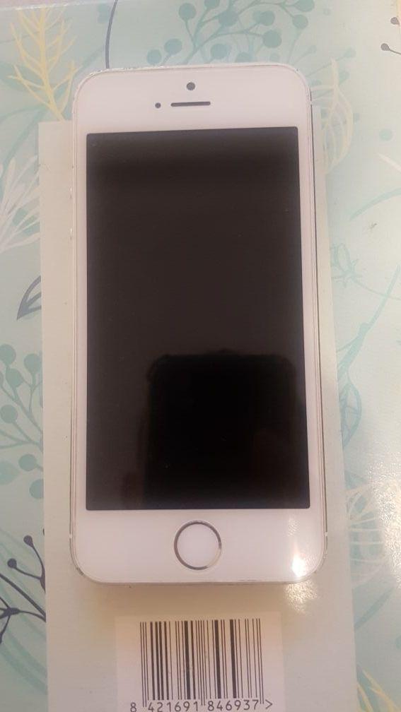 iPhone 5s 16g Plata