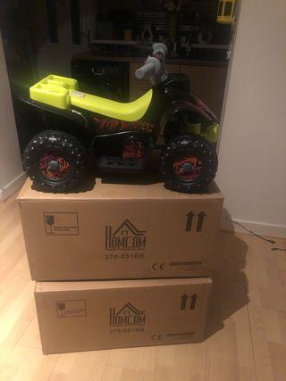 2 children electric quads