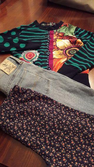 Pantalones Ralph Lauren y Chaqueta Desigual T-6