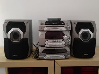 Equipo de música Panasonic SA-AK27