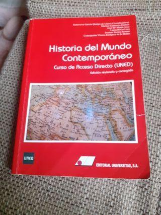 libro texto historia contemporánea uned