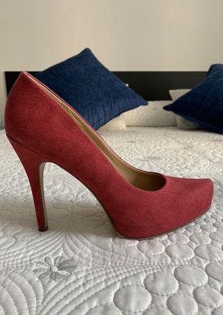 Zapato rojo !