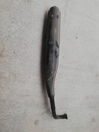 tubo de escape derbi variant