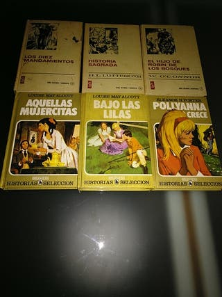 Lote libros antiguos.