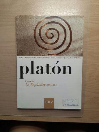 Libro Filosofía Platón