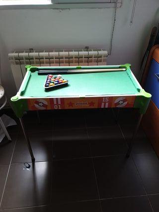 mesa se billar para peques
