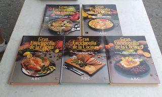 Enciclopedia de Cocina 5 Tomos