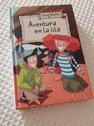 """Libro juvenil: """"Aventura en la isla"""""""
