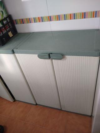 Mueble armario resina exterior-interior