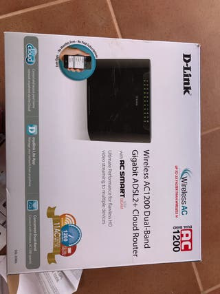 D-Link DSL-3580L - Router WiFi